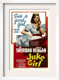 Juke Girl, Ronald Reagan, Ann Sheridan; Center: Ann Sheridan, 1942 Prints