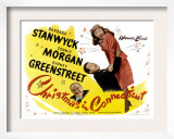 Christmas in Connecticut, Sydney Greenstreet, Dennis Morgan, Barbara Stanwyck, 1945 Poster