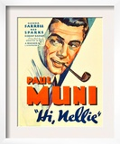 Hi, Nellie, Paul Muni, 1934 Prints
