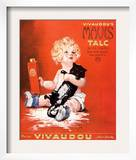 Mavis Talc Cats Talcum Powder, USA, 1920 Posters