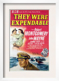 They Were Expendable, John Wayne, Donna Reed, Robert Montgomery, 1945 Prints