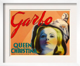 Queen Christina, Greta Garbo, 1933 Poster