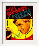 Doubting Thomas, Billie Burke, Will Rogers on Trimmed Window Card, 1935 Posters