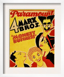 Monkey Business, the Marx Brothers, 1931 Print