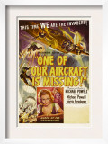 One of Our Aircraft Is Missing, 1942 Poster