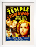 Stowaway, Robert Young, Alice Faye, Shirley Temple, 1936 Prints