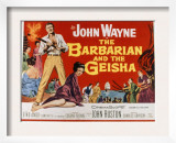 The Barbarian and the Geisha, John Wayne, Eiko Ando, 1958 Prints