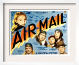 Air Mail, Gloria Stuart, Russell Hopton, Ralph Bellamy, Lilian Bond, Pat O'Brien, 1932 Art