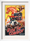 Ride 'Em Cowboy, Buck Jones, 1936 Print