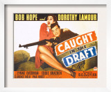 Caught in the Draft, Dorothy Lamour, Bob Hope, 1941 Art