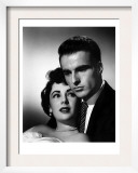 A Place in the Sun, Elizabeth Taylor, Montgomery Clift, 1951 Print