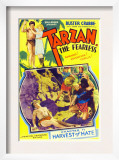 Tarzan the Fearless, Buster Crabbe, Julie Bishop, 1933 Prints