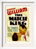 The Match King, Lili Damita, Warren William, 1932 Print