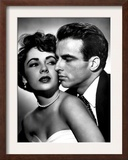 Place in the Sun, Elizabeth Taylor, Montgomery Clift, 1951 Posters
