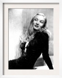 Portrait of Veronica Lake Print