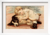 Hoytes Cologne, Dogs, Womens, USA, 1890 Posters