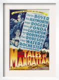 Tales from Manhattan, Rita Hayworth, Charles Boyer, 1942 Posters