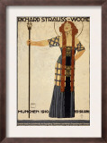 Richard Strauss Music Festival, circa 1910 Prints by Ludwig Hohlwein