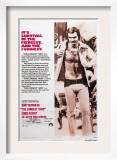 The Longest Yard, Burt Reynolds, 1974 Print