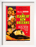 The Flame of New Orleans, Marlene Dietrich, Bruce Cabot, Roland Young, 1941 Print