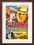 Silver Spurs, Buck Jones, 1936 Posters
