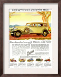Buick Division of General Motors, Magazine Advertisement, USA, 1930 Prints