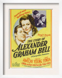 The Story of Alexander Graham Bell, Don Ameche, Loretta Young, 1939 Posters