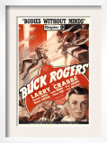 Buck Rogers, Larry Crabbe in 'Chapter 9: Bodies Without Minds', 1939 Prints