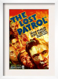 The Lost Patrol, Lower Right: Victor Mclaglen, 1934 Prints