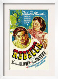 Rebecca, Laurence Olivier, Joan Fontaine, 1940 Prints