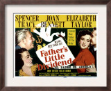 Father&#39;s Little Dividend, Joan Bennett, Spencer Tracy, Elizabeth Taylor, Don Taylor, 1951 Prints
