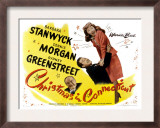 Christmas in Connecticut, Sydney Greenstreet, Dennis Morgan, Barbara Stanwyck, 1945 Print