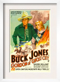Gordon of Ghost City, Buck Jones, Madge Bellamy, 1933 Posters