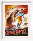 The Adventures of Captain Marvel, 1940 Art