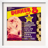 Dinner at Eight, 1933 Print