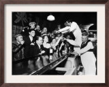 Sloppy Joe's Bar, in Downtown Chicago, after the Repeal of Prohibition. December 5, 1933 Prints