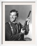 John Wayne in Costume for Stagecoach, 1939 Art