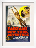 Tarzan's New York Adventure, 1942 Posters