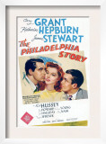 The Philadelphia Story, Cary Grant, Katharine Hepburn, James Stewart, 1940 Prints