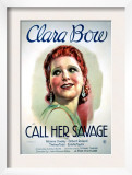 Call Her Savage, Clara Bow, 1932 Prints