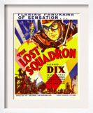 The Lost Squadron, Richard Dix on Window Card, 1932 Art