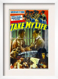 Take My Life, Poster Art, 1942 Posters