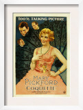 Coquette, Matt Moore, Johnny Mack Brown, Mary Pickford, 1929 Posters