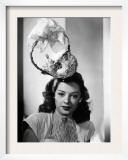 Jane Greer, Modeling an Enterprising Easter Bonnet, 1947 Posters