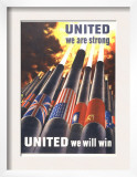 United We are Strong, United We Can Win Prints by Henry Koerner