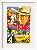 Silver Spurs, Buck Jones, 1936 Art