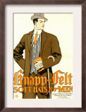 Knapp Felt, Magazine Advertisement, USA, 1910 Art