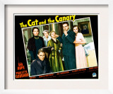 The Cat and the Canary, Douglass Montgomery, Gale Sondergaard, Elizabeth Patterson, and Bob Hope Print