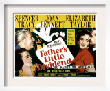 Father&#39;s Little Dividend, Joan Bennett, Spencer Tracy, Elizabeth Taylor, Don Taylor, 1951 Art
