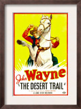 The Desert Trail, John Wayne, 1935 Print